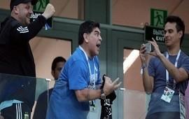 23/06/2018: Maradona le exigió a la Selección defender el prestigio y pide tener una reunión con los jugadores