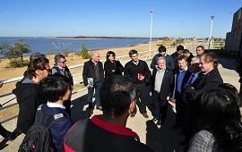 28/06/2018: Bordet acordó con equipos del BID obras de saneamiento para el río Uruguay