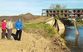 07/06/2019: Avanzan los primeros trabajos de construcción de los puentes en Don Cristóbal