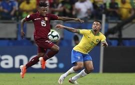 19/06/2019: ¿Qué cobraron? El VAR protagonizó el empate entre Brasil y Venezuela en el partido con más polémicas de la Copa América
