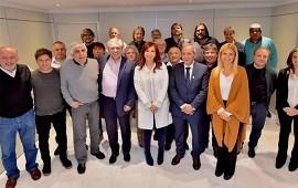 13/06/2019: Cristina y Alberto recibieron el apoyo de los Moyano y la CTA