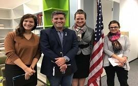 14/06/2019: Entre Ríos promocionará las becas y programas educativos que ofrece Estados Unidos