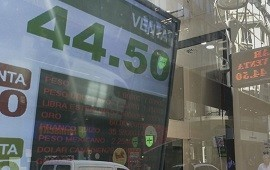 19/06/2019: El dólar se mantiene por debajo de los $45