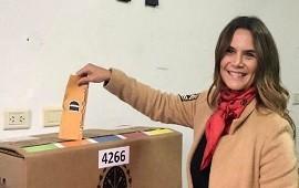 26/06/2019: Amalia Granata negó que el frente Somos Vida apoye la candidatura de José Luis Espert: