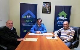 27/06/2019: La provincia trabaja en soluciones habitacionales para Santa Anita