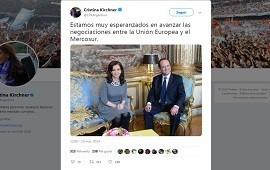 29/06/2019: Acuerdo Mercosur-Unión Europea: en 2014, Cristina Kirchner estaba