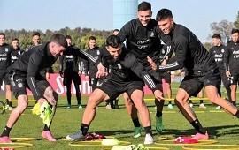 13/06/2021: Scaloni probó equipo de cara al debut de Argentina