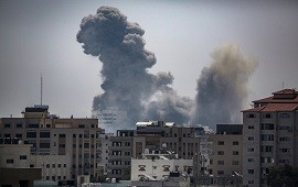 17/06/2021: Franja de Gaza: ataques de Israel sobre posiciones de Hamas