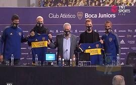 17/06/2021: Boca presentó a Norberto Briasco y Esteban Rolón
