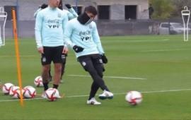 30/06/2021: El concordiense Lucas Robertone continúa entrenando con la Selección Argentina Sub-23