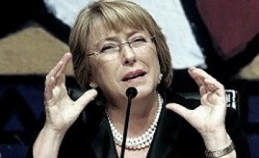 "Bachelet: ""No podemos permitir que agentes especulativos pongan en riesgo acuerdos alcanzados"""