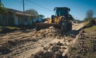Construyen un desvío para tránsito pesado en Colonia Avellaneda