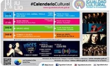 Variados espectáculos gratuitos de Igualdad Cultural