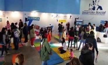 Las familias disfrutan de las actividades de Desarrollo Social en Tecnópolis
