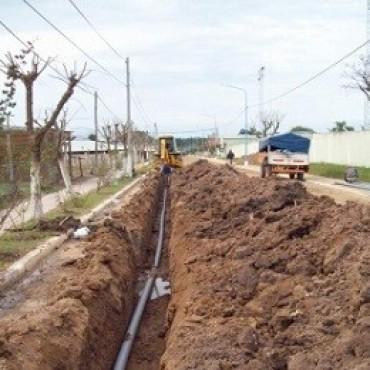 Se ampliarán redes de agua y desagües cloacales en cuatro barrios de Concordia