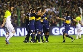 Boca venció a Sarmiento como visitante y se subió a la punta del torneo
