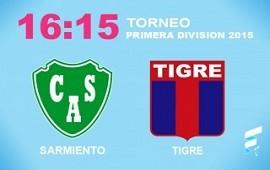 Sarmiento busca cortar la caía y recibe a Tigre en Junín