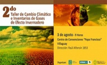 Elaborarán inventarios de los gases de efecto invernadero en toda la provincia