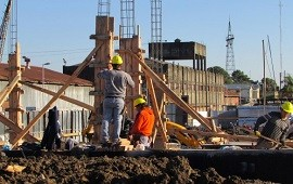 12/07/2017: Progresa la construcción del nuevo edificio de la Escuela Nº100 Puerto Nuevo de Paraná