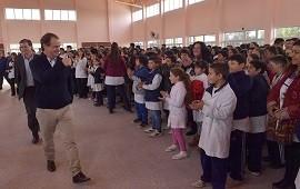 """28/07/2017: Bordet: """"Tenemos la obligación de bregar por la educación pública"""""""
