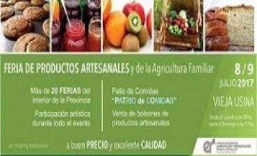 04/07/2017: Se realizará la V Feria de Alimentos de la Agricultura Familiar y exposición de Microemprendedores