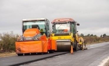 04/07/2017: Avanza a buen ritmo la obra de rehabilitación de la ruta provincial 32