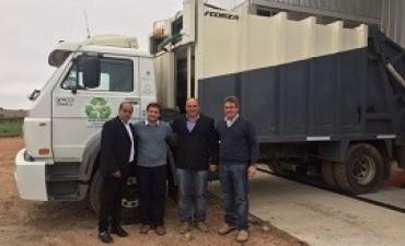 07/07/2017: Destacan el apoyo de la provincia para concretar la planta de tratamiento de residuos de Aldea San Antonio