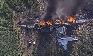 11/07/2017: Un avión militar se estrelló en Misisipi: 16 muertos