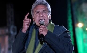 12/07/2017: Lenín Moreno criticó la herencia económica del gobierno de Correa