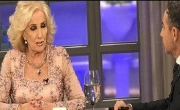 17/07/2017: Mirtha Legrand: