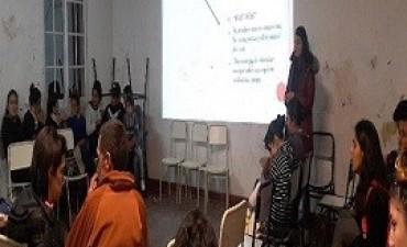 17/07/2017: Jóvenes de Paraná se capacitaron en prevención de la violencia de género