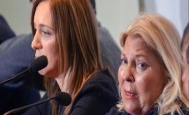 21/07/2017: Vidal y Carrió se unieron en la denuncia de
