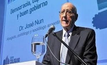 29/07/2017:  José Nun:
