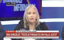 03/07/2018: Liliana González, tras condena a Nahir Galarza: