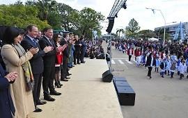 09/07/2018: El gobernador conmemoró el Día de la Independencia con un llamado a trabajar en conjunto
