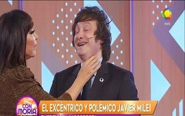 20/07/2018: ¿Romance en puerta? Moria Casán asegura sobre Javier Milei: