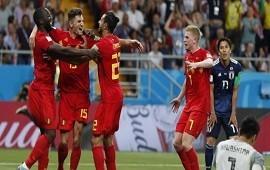 02/07/2018: Bélgica dio vuelta un partido increíble frente a Japón y pasó a cuartos