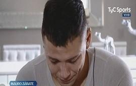 04/07/2018: Video - Entre lágrimas, Mauro Zárate habló de su