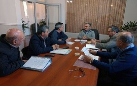 04/07/2018: Se coordinaron acciones para obras en seis municipios del departamento Uruguay
