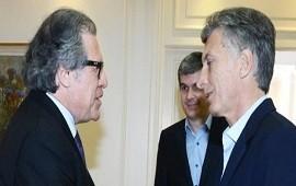 18/07/2018: Macri se reunió con Almagro en Olivos