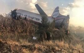 18/07/2018: El aterrador video de un pasajero que grabó desde el avión el momento antes de estrellarse