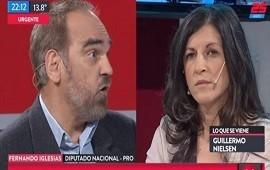19/07/2018: Fernando Iglesias se cruzó con Fernanda Vallejos, diputada kirchnerista: