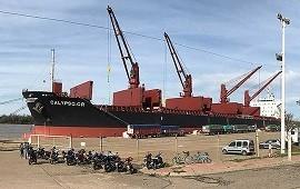 25/07/2018: Embarcan más de 12.000 toneladas de arroz con destino a Irak