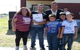 31/07/2018: La provincia construirá viviendas en Aldea San Antonio con recursos propios