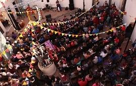 09/07/2018: Una multitud de niñas y niños inauguraron Casa Tomada en la Casa de la Cultura