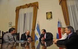 23/07/2019: Bordet renueva agenda de trabajo con los intendentes actual y electo de Concepción del Uruguay