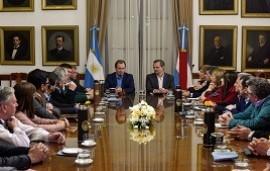 04/07/2019: Bordet recibió a los intendentes electos de Cambiemos para trabajar en conjunto