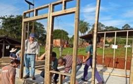 05/07/2019: Construirán más de 60 viviendas de madera en Concordia