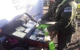 06/07/2019: Gendarmería halló más de diez kilos de marihuana en un colectivo de larga distancia