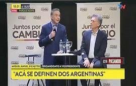 10/07/2019: Macri y Pichetto alentaron a los candidatos de Cambiemos: